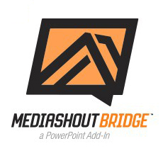 MediaShout Bridge PowerPoint add-in